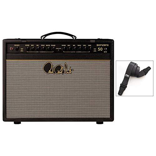 PRS Sonzera 50 Watt 1 X 12 Combo Tube Electric Guitar Amp and Strap