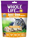 Whole Life Pet Just One-Single Ingredient Freeze Dried Treats for Cats Pure Chicken Breast, 4oz