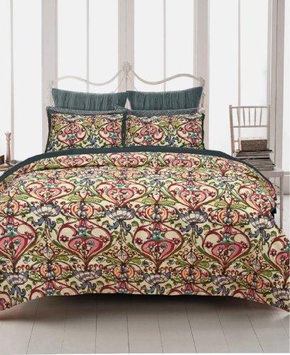 Sale!! Republic Mosaic Damask Duvet Cover, Full/Queen