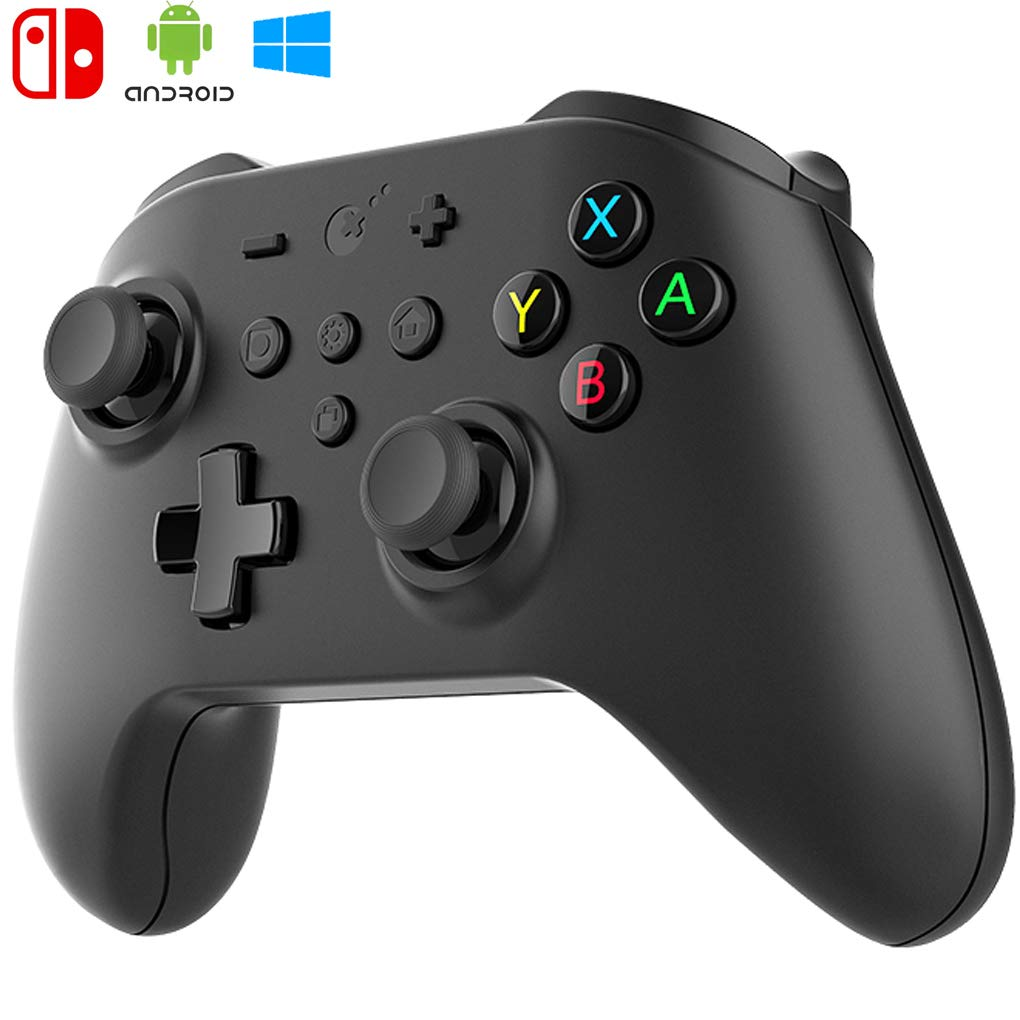 Gulikit Kingkong Wireless Controller, AI Learning Dual Chips and Motors,  ALPS Stick, Hall Effect Remote Console, Gyro 6-Axis Gamepads for Nintendo