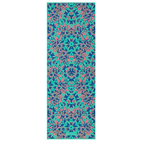 Gaiam Premium Print Reversible Yoga Mat Kaleidoscope 6mm