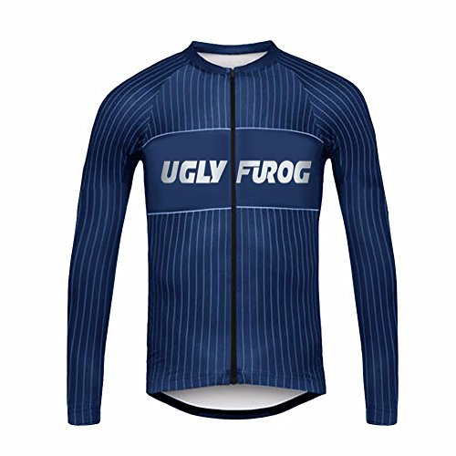 Uglyfrog 2017 UG8 New Classical Thermal Fleece Winter Long Sleeve Cycling Jersey Mountain Triathlon - Triathlon Singapore 2017