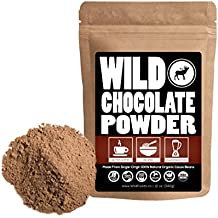 Organic Raw Cocoa Powder, Wild Dark Chocolate Powder, Handcrafted, Single-Origin, Fair Trade, Organically Grown Non-Alkalized Cacao from South American Cocoa beans (24 ounce)