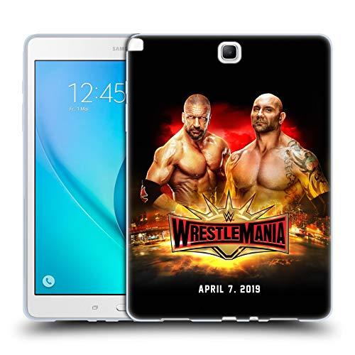 Official WWE Triple H & Batista Wrestlemania 35 Soft Gel Case for Samsung Galaxy Tab A 9.7 ()