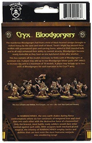 Privateer Press - Warmachine - Cryx: Trollkin Bloodgorgers Unit Model Kit 4
