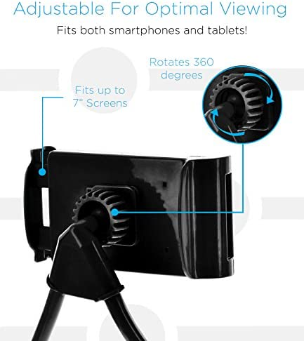 Aduro Phone Neck Holder, Gooseneck Lazy Neck Phone Mount to Free Your Hands for iPhone Android Smartphone 51e97JVAIVL