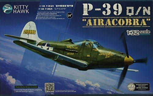 キティホーク1: 32p-36Q / N Airacobra航空機プラスチックモデルキット# kh32013