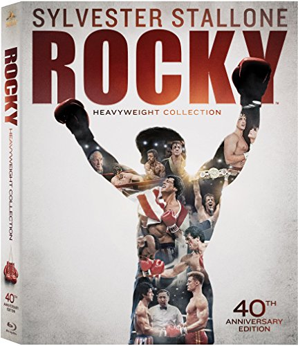 Rocky Heavyweight Collection(Rocky / Rocky II / Rocky III / Rocky IV / Rocky V / Rocky Balboa)( 40th Anniversary Edition) [Blu-ray]
