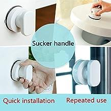 NewKelly Bath Safety Handle Suction Cup Handrail Grab Bathroom Grip Tub Shower Bar Rail