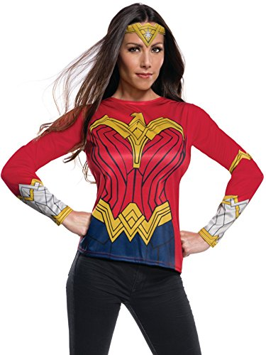 Rubie's Women's Wonder Woman Adult Costume Top As Shown Medium (Large Image)