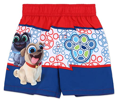 Dreamwave Toddler Boy Puppy Dog Pals Swim Trunk - Toddler Puppy Boys