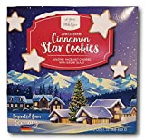 Germany Style Cinnamon Star Cookies- Almond Hazelnut with Sugar Glaze (ZimtSterne)