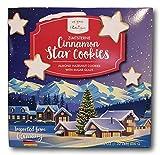 Germany Style Cinnamon Star Cookies- Almond Hazelnut with Sugar Glaze (ZimtSterne)