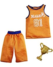 Barbie Ken Carrière Fashion Pack - GRC69 - Short + tanktop basketbalspeler + trofee - Nieuw