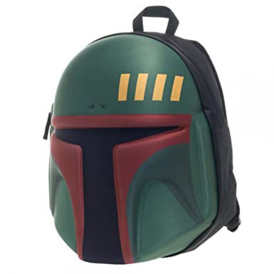 Image Unavailable. Image not available for. Color  Star Wars Boba Fett  Helmet Molded Backpack 5e5876ba7bc69