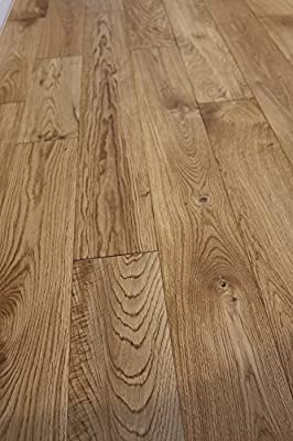 "Oak Salthouse 3/4 x 5"" Wire Brushed Solid Hardwood Flooring SAMPLE"