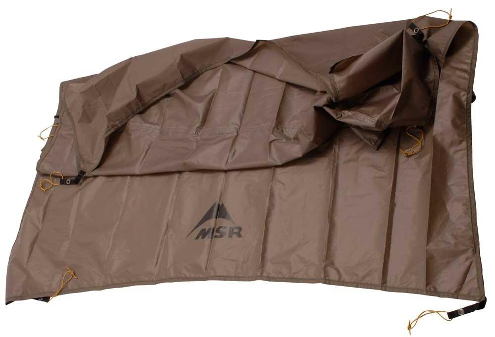 MSR Twin Sisters Shelter Tent Footprint (2017 Model) by MSR
