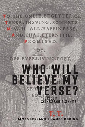 Who Will Believe My Verse?: The Code in Shakespeare's Sonnets