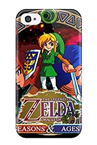 Premium The Legend Of Zelda Oracle Of Ages Back Cover Snap On Case For Iphone 5C WANGJING JINDA
