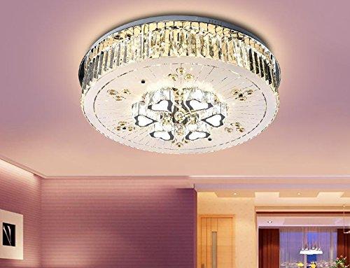 SDKKY Navidad luz cristalina, mesas, salones, lámpara de ...