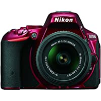 Nikon D5500 DX-format Digital SLR w/ 18-55mm VR II Kit (Red) Basic Facts Review Image