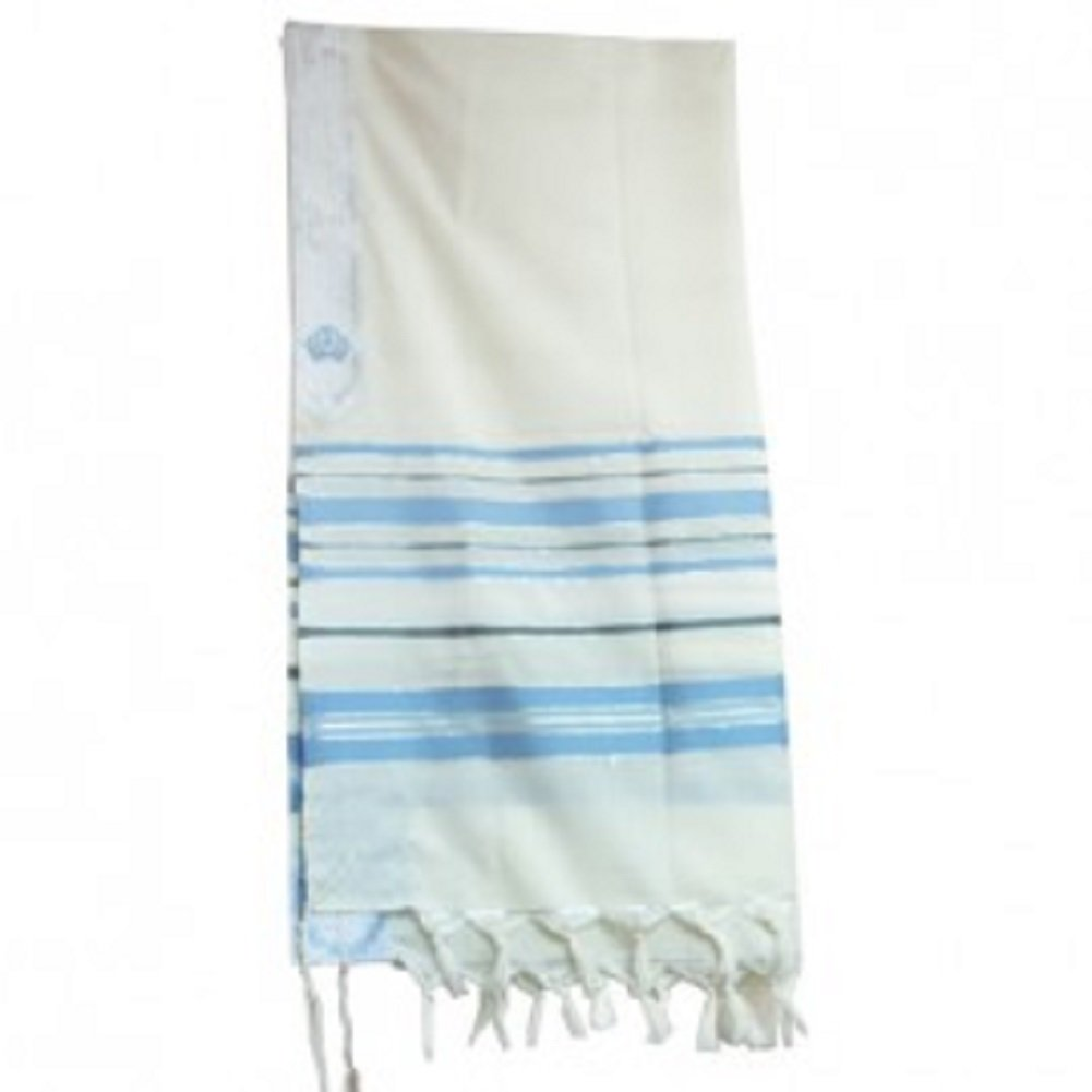 New Covenant Messianic Tallit Prayer Shawl 72 22 by Bethlehem Gifts TM