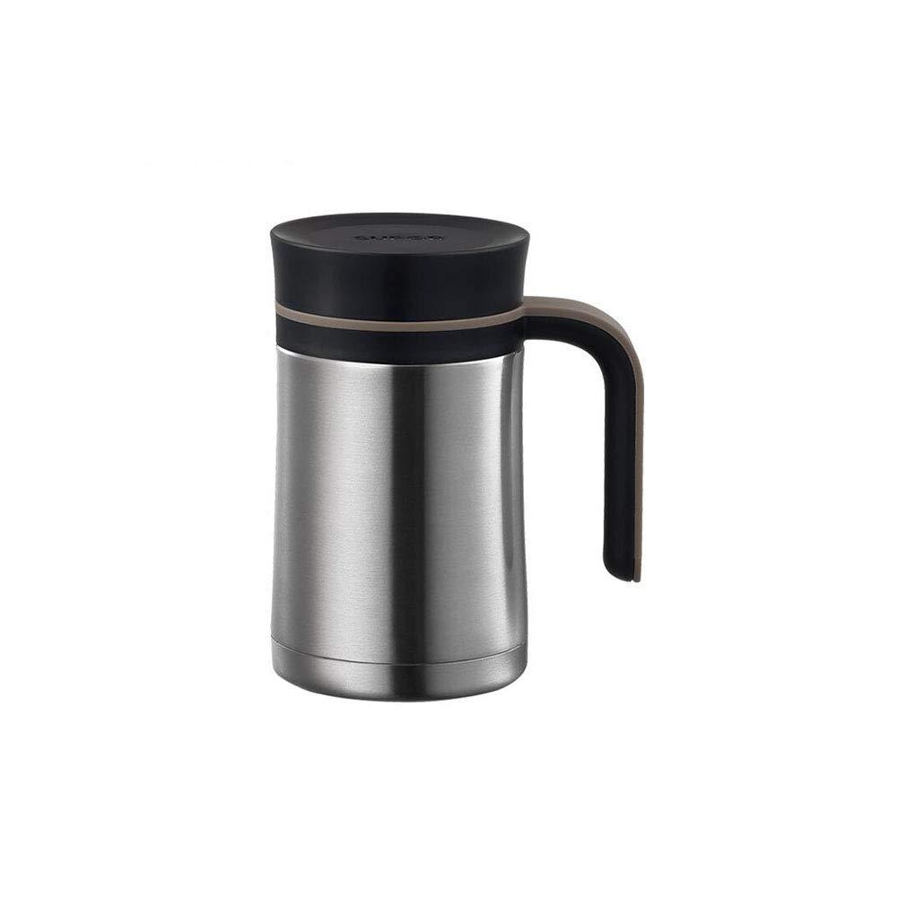 FF Edelstahl-Vakuumflasche mit Griff Tragbare Geschäft-Frau mit hoher Kapazität Ms Office Tea Cup