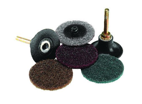 75mm 'Roloc' type quick change discs for sanding and surface blending. (Coarse surface blending) Price per 20 discs. Norton
