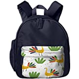 Peacock Children Book Bag,Fashion Unisex Nylon Oxford Shoulders Bag,Gift