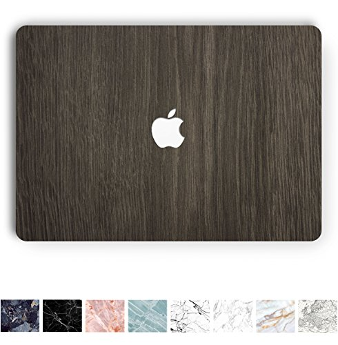 Koru Premium Dark Wood Vinyl Decal Skin Sticker Case Cover f