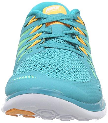 Nike Wmns Nike Free 5.0 - Zapatillas para correr para mujer Dunkelblau/Pink
