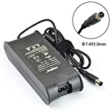 Sunydeal 90W AC Adapter Power Charger Replacement for Dell Vostro 1011 130 1440 1445 1511 1521 1540 1550 2420 2421 2520 2521 3300N 3360 3400N 3450N 3460 3550N 3560 3565 5560 V131, Alienware M11x R2 R3