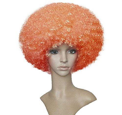 BeautyWig Curly Wig Clown Hair Funky Full Head