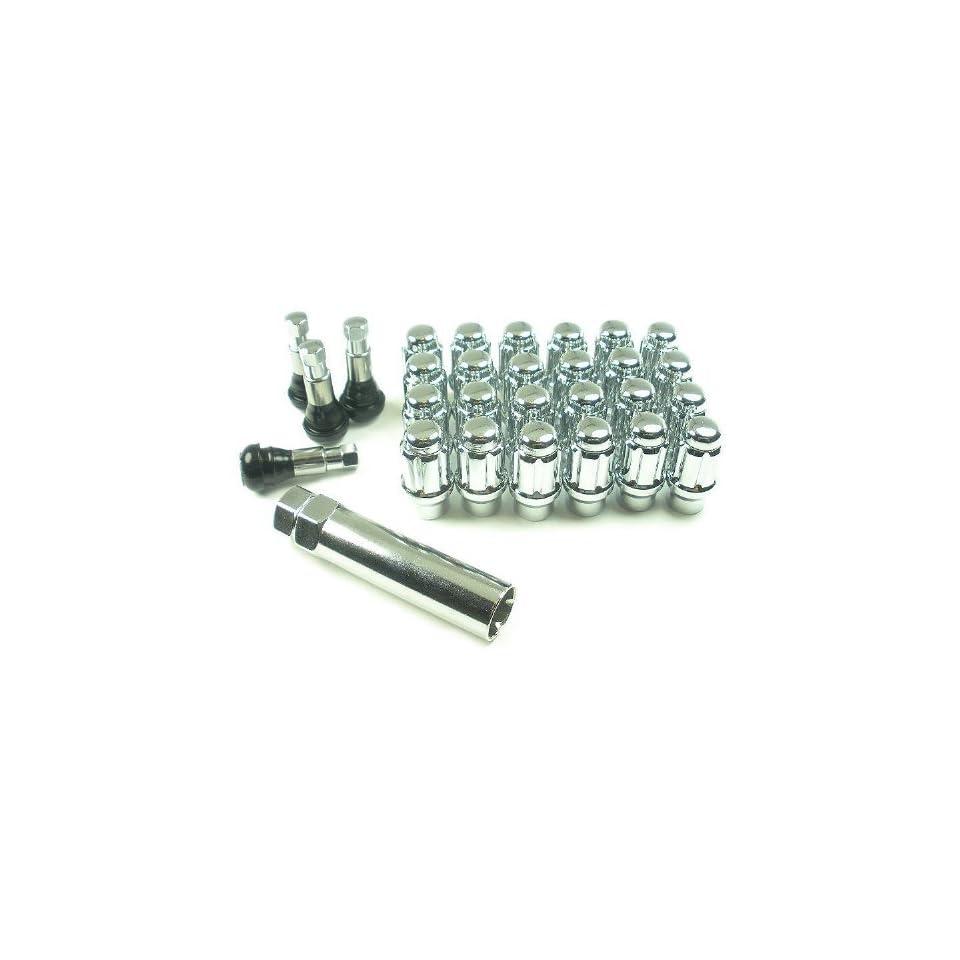 West Coast Accessories W56015SE 12 mm X 1.5 Spline Extended Length Wheel Lug Nut Installation Kit   6 Lug