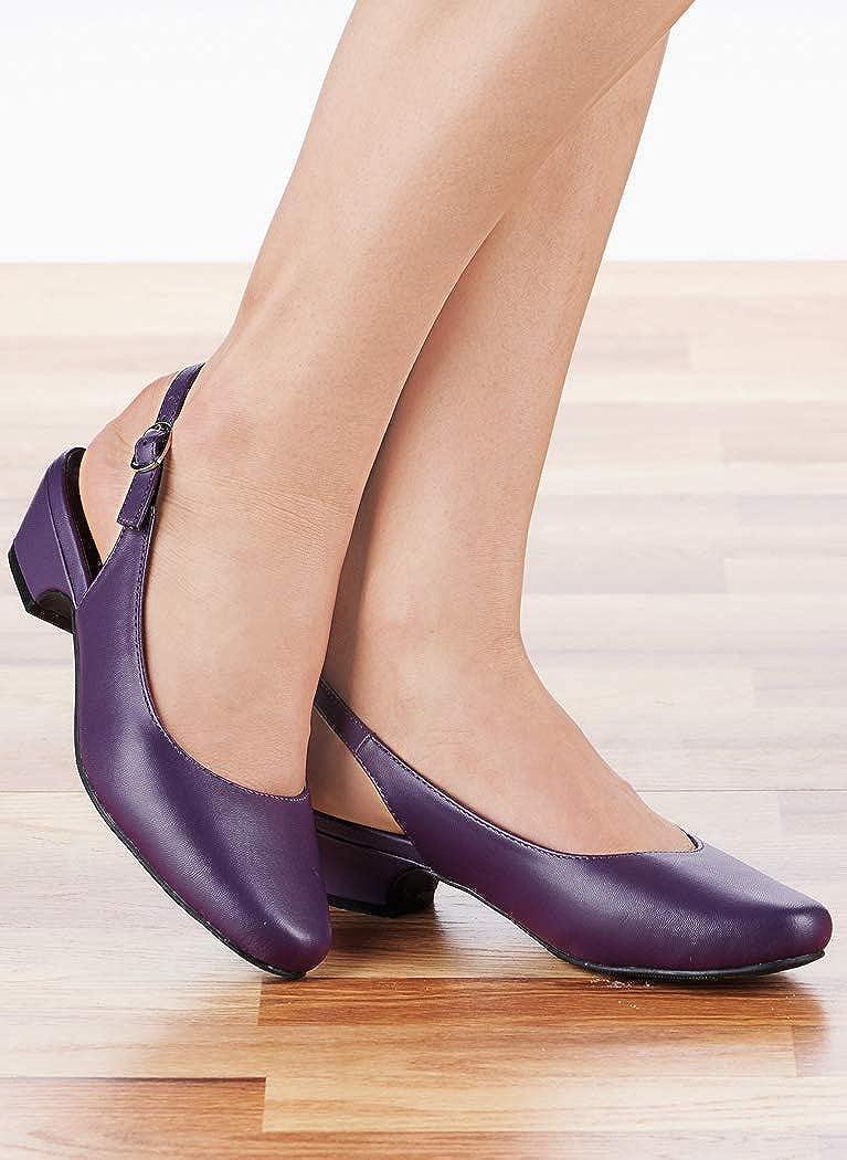 Amazon.com: AngelSteps Zapatos de vestir para mujer, de piel ...