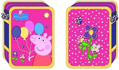 ESTUCHE DOBLE PEPPA PIG GLOBOS: Amazon.es: Juguetes y juegos