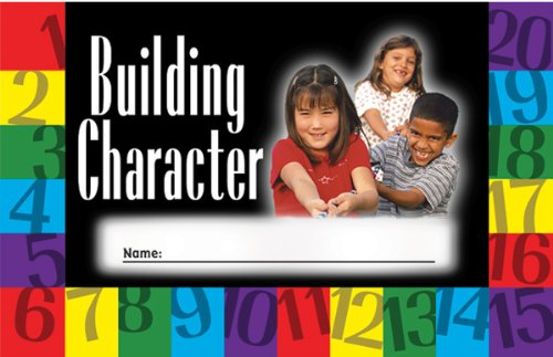 North Star Resources Building Character Incentive Punch Cards Pack of 36