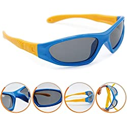 Northgoose Kids Boys Girls Polarized Sunglasses UV Protection ngk0002 Blue