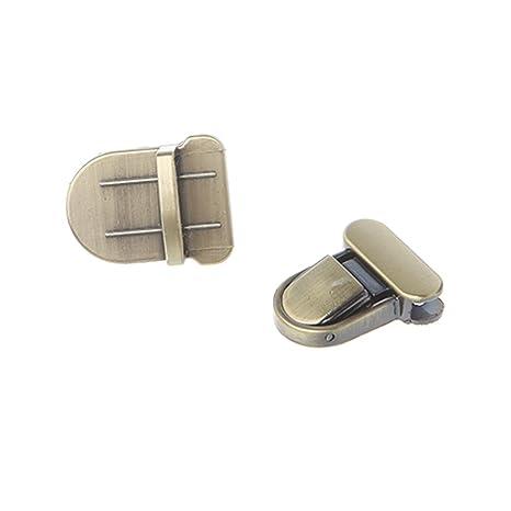 5f0b4301bf1d Amazon.com: Misright 5 Pcs Metal Tuck Lock Clasp Buckle for Handbag ...