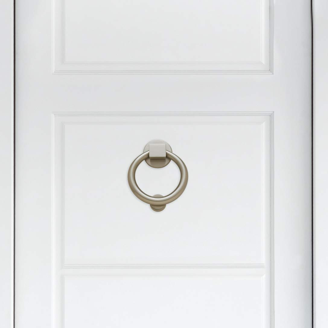 Baldwin Estate 0195.030 Ring Knocker in Polished Brass 4.25