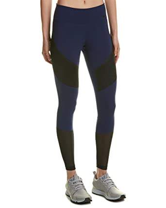 7a636d789c20d NIKE Womens Power Colorblock Compression Athletic Leggings Navy XS