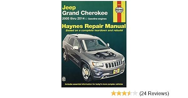 Amazon Com Haynes 50026 Jeep Grand Cherokee Repair Manual 2005 Rh Amazon  Com 06 Jeep Commander CRD Jeep CRD Problems