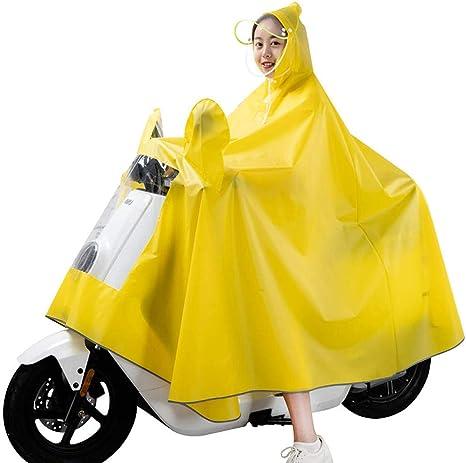 SHUHANX Impermeables Chubasquero para Mujer Poncho De Bicicleta De ...