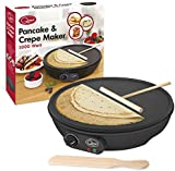 Quest 35540 Benross Electric Pancake Crepe Maker with Spreader, 1000 W