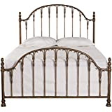 Hillsdale Furniture 1239BQR Tyler Bed Set with Rails, Queen, Antique Bronze