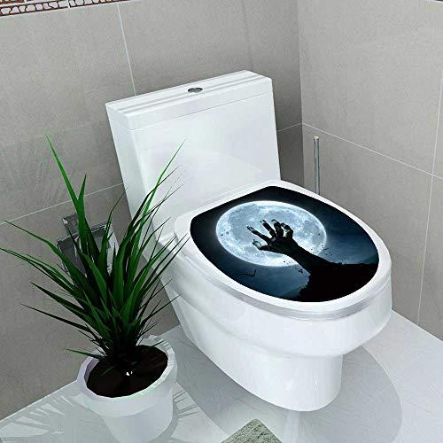 Auraise-home Bathroom Toilet Halloween Concept Zombie Hand Coming