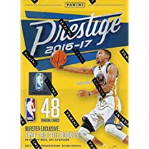 2016 2017 Prestige NBA Basketball Series Unopened Blaster Box with FOUR EXCLUSIVE Acetate Rookie Cards Per Box