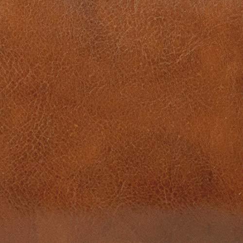 ROUGE épaule en cm MICHELANGELO Sac H35 à Italie Cuir Main Cuir la Vrai Cognac 20x6 Fait en Mono axAvqCwf