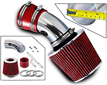 Sport Ram Air Intake System Dry Filter For 00-05 Monte Carlo Impala 3.1 3.4 V6