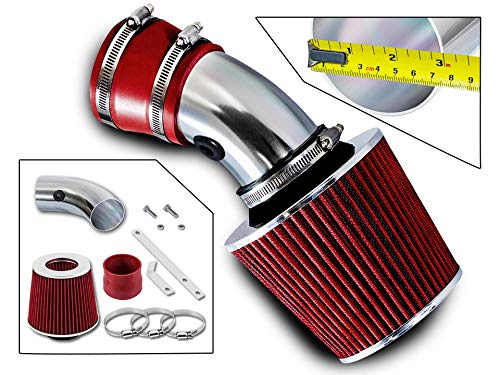 Filter Combo RED For 98-05 Monte Carlo 3.8L Rtunes Racing Short Ram Air Intake Kit 00-05 Impala 3.8L